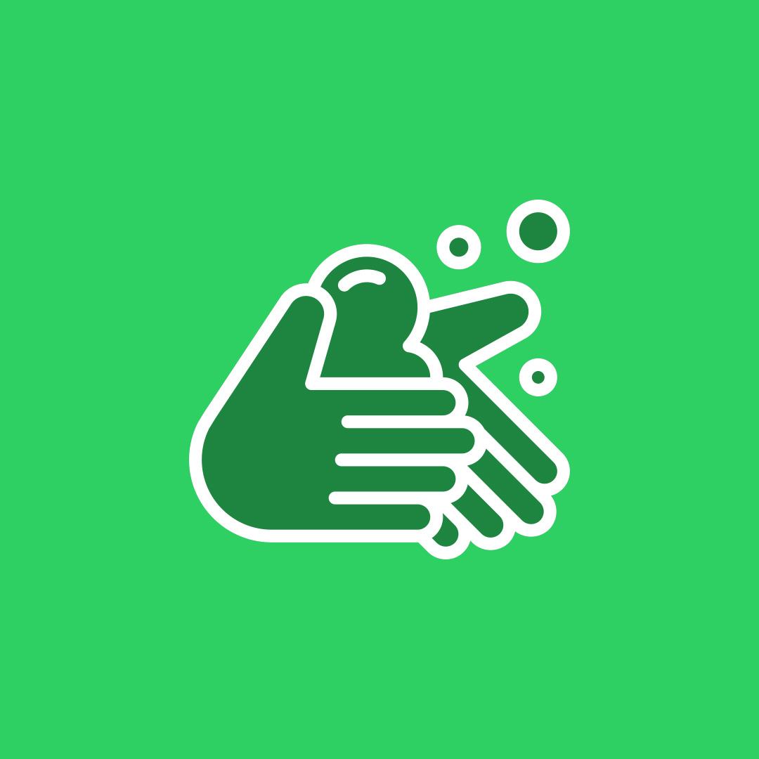 Desinfectie handen